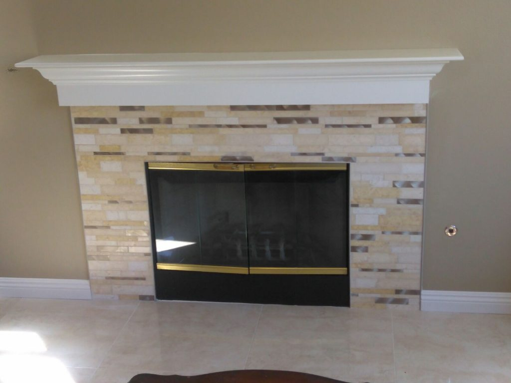 Flooring, Fireplaces and Backsplash